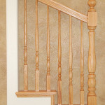Stair Display Albuquerque - Classic All Light Wood